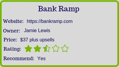 The Bank Ramp (Review) rating