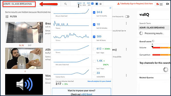 he shows you how youtube is for marketing sounds