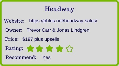 headway review - rating