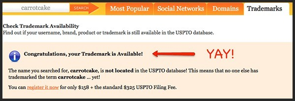 domain registration lookup for trademarks