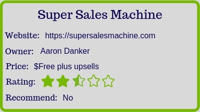what is the super sale machine (review) rating