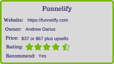 the funnelify review - rating