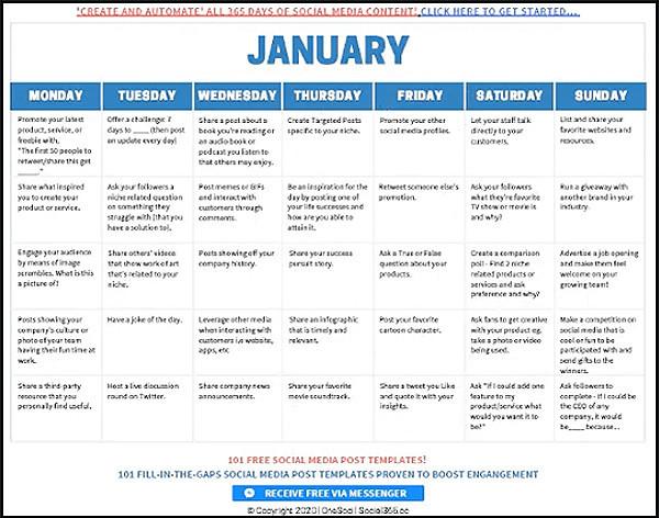 calendar like mark laxton describes