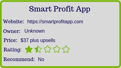 Smart Profit App review (rating)