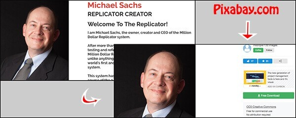 the replicator system uses a false owner name