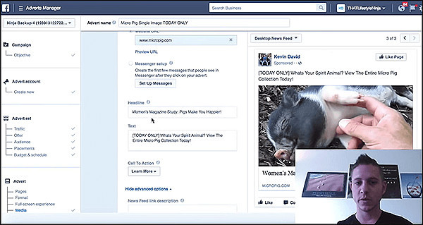 facebook ads tutorial