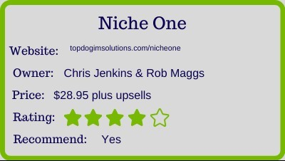 the niche one review - rating