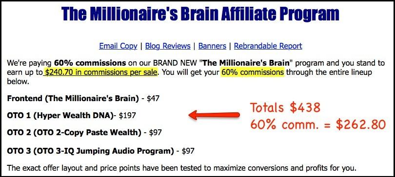 what is millionaire's brain academy affiliate program