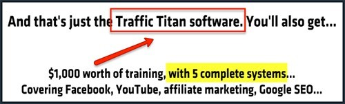 auto traffic generator online is an older product called traffic titan