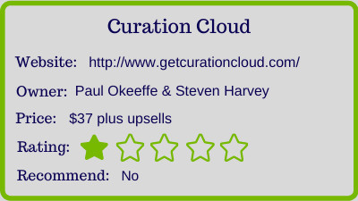 the curation cloud review - rating