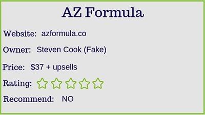 AZ Formula rating