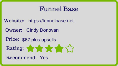 funnel base review rating