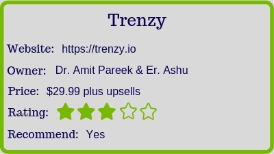 the trenzy review rating