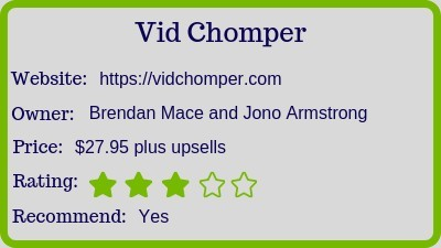 the vid chopper review (rating)