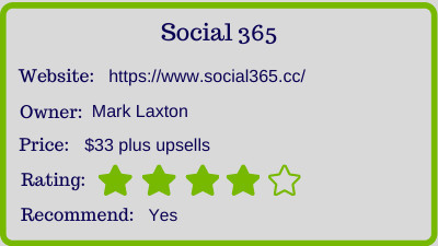 the social 365 review - rating