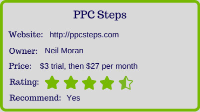 the PPC Steps review - rating