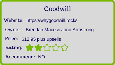 goodwill review rating