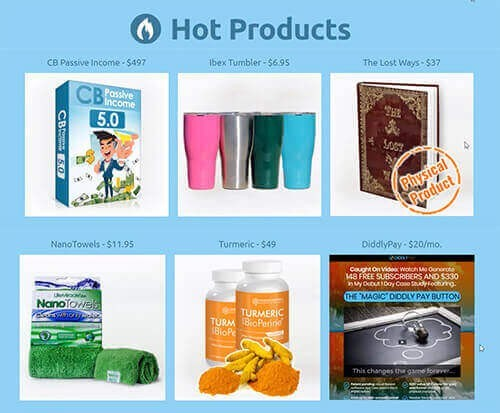 hot products for affiliate marketing