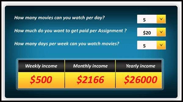 get paid to write movie reviews