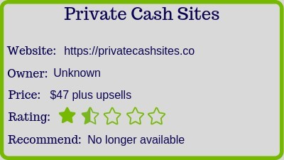 a private cash sites review and rating