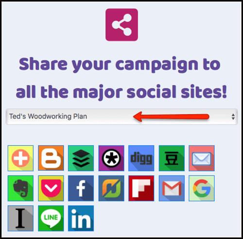 social sharing platforms
