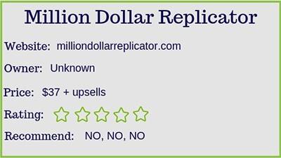 million dollar replicator review stats