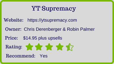 The YT Supremacy Review rating