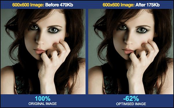 wordpress optimization service for images