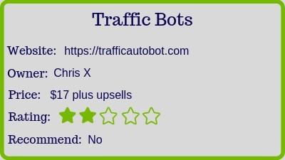 the traffic bots review rating