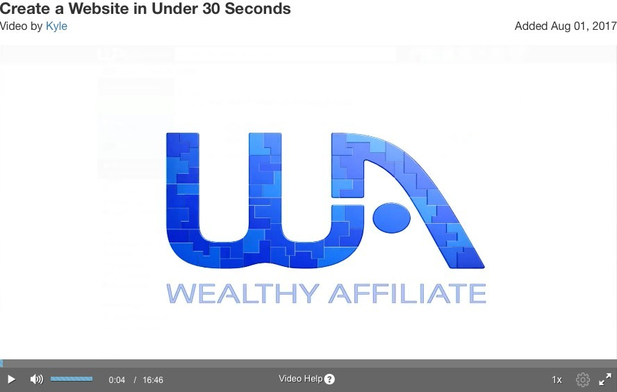 affiliate marketing examples of building websites