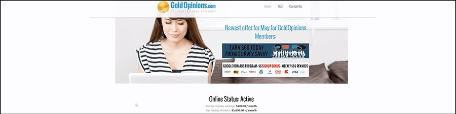 is gold opinions a scam?