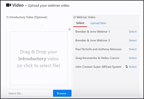 webinars by brendan mace and jono armstrong