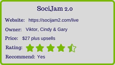 the socijam review - rating