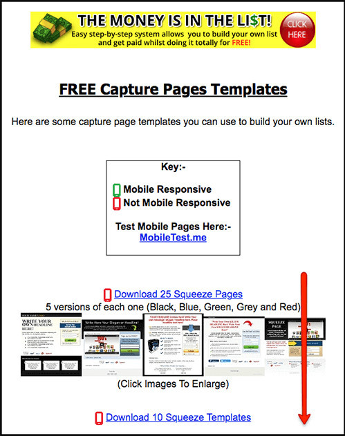 resources give you free template downloads