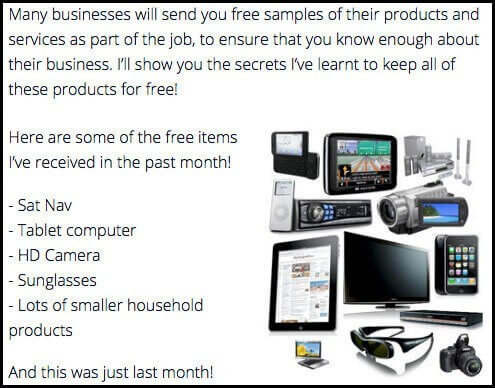 paid social media jobs help get you free products
