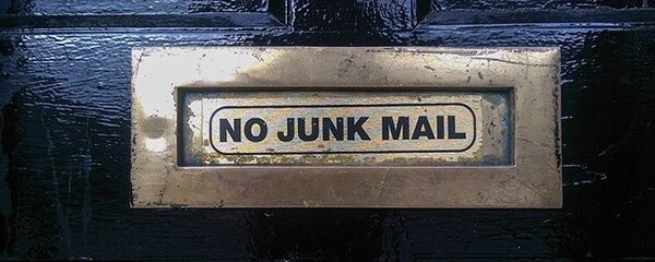 list building strategies don't include unsolicited mail