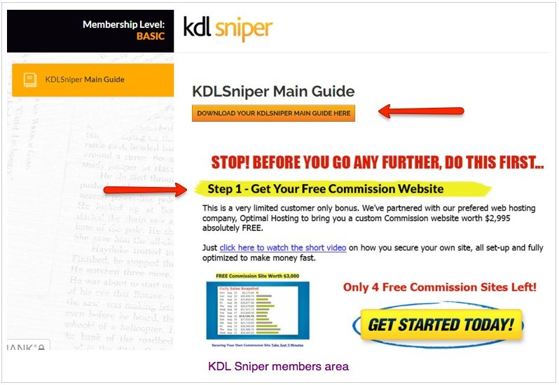 Kdl sniper is only a pdf