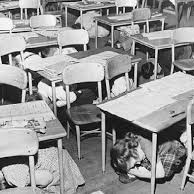 who were baby boomers who had classroom drills?