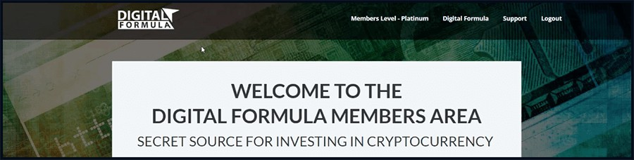 digital formula is about cryptocurrency