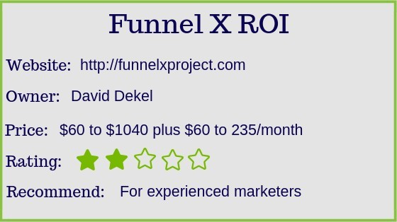 is funnel x project a scam