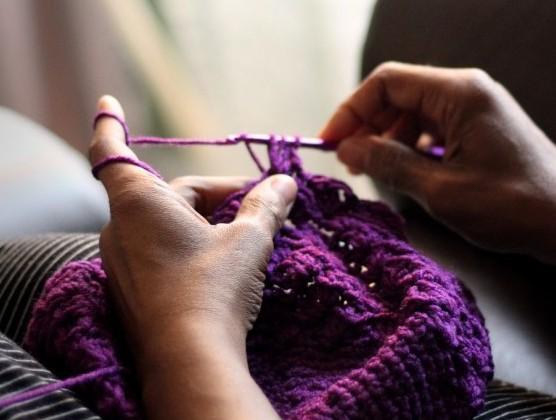 Do a little knitting