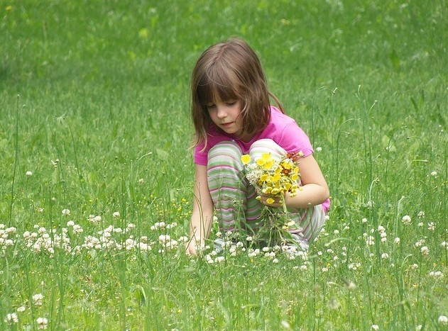 How Do I Get Started With Affiliate Marketing, little girl picking flowers