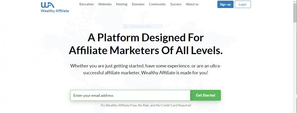 Main-sign-up-page-in-Wealthy-Affiliate