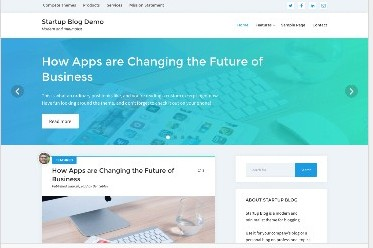 Start Up Blog theme