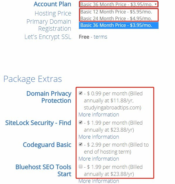 web-hosting-comparison-Bluehost-hire-fees