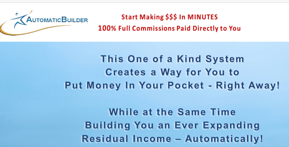 Automatic Builder Review Instant Pay Sites