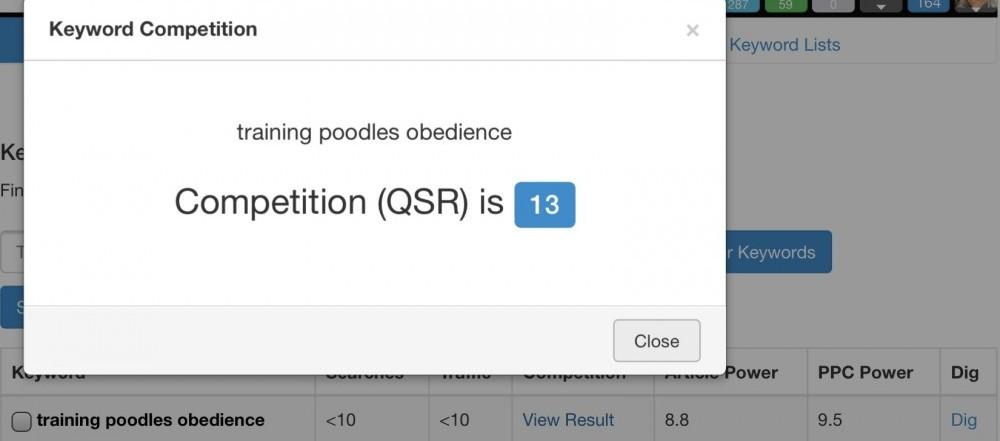 Competition QSR