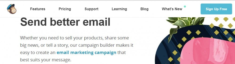 eCommerce Growth Hacking Tools - MailChimp