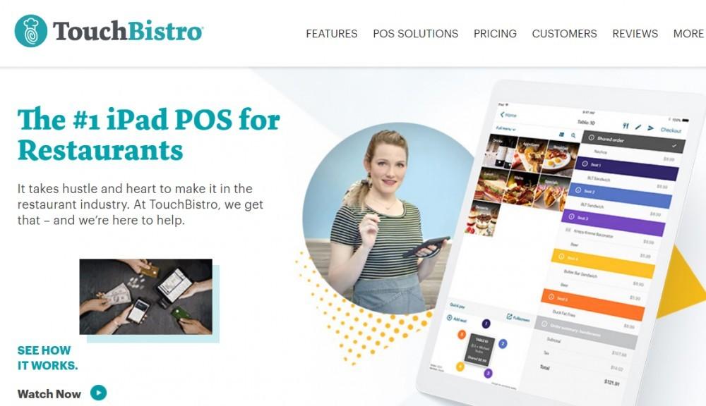 Best POS for restaurants - TouchBistro