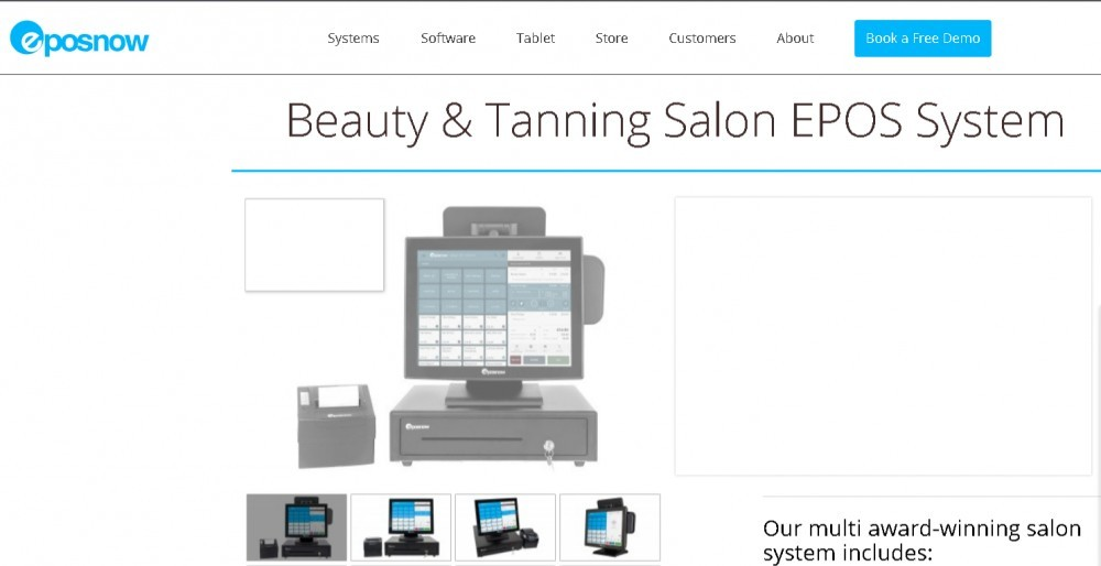 Best POS for salons - EPOSnow